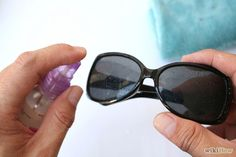 35e182863d9 How to get rid of scratches from sunglasses! plastic lens only Scratched  Glasses