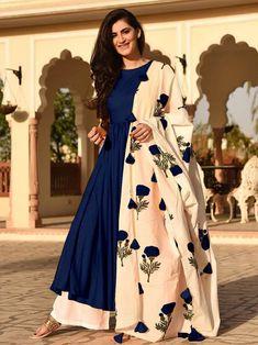 Designer+Indian+Blue+Color+Party+wear+Bollywood+Fashion+Salwar+Kameez