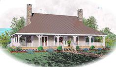 2417 sq. ft. - 3 BR/2.5 BA - House Plan ID: chp-22740 - COOLhouseplans.com