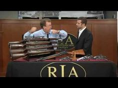 U.S. Military Arms in RIAC's December 2013 Premiere Auction - YouTube