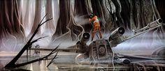 Star Wars, The Art of Ralph Angus McQuarrie : 100 Concept Art - Daily Art, Movie Art