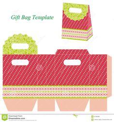 sacolas de papel imprimiveis - Pesquisa Google