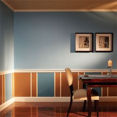 Affordable home improvement ideas- New trim and paint