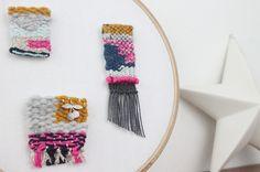 DIY Mini-tissage - Laine | Abracadacraft, Des idées pour aujourd'hui et pour deux mains