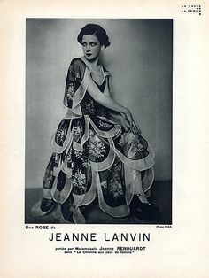 Jeanne Lanvin 1928
