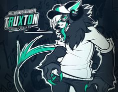 Truxton by squeedgemonster on deviantART.