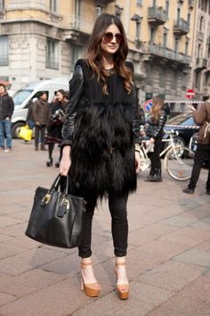 Best-Dressed Street Style at Milan Fashion Week Fall 2013 | Vanity Fair