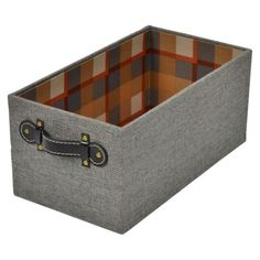 Threshold™ Set of 2 Small Hard-Sided Milk Crate - Gray