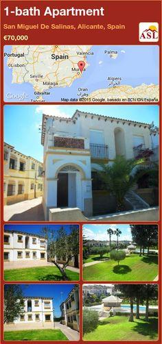 1-bath Apartment in San Miguel De Salinas, Alicante, Spain ►€70,000 #PropertyForSaleInSpain