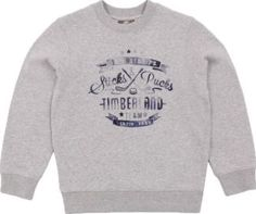 Timberland Fleece sweatshirt Heather grey `4 years Fabrics : Recycled Fleece Cotton Jersey Details : Straight cut, Round neckline, Long sleeves, Tightened cuffs Composition : 79% Cotton Composition : 21% Polyester http://www.comparestoreprices.co.uk/january-2017-7/timberland-fleece-sweatshirt-heather-grey-4-years.asp