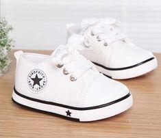 ce0a47f55 2017 Nem Summer Spring Canvas Zapatos para niños Star Fashion Sneakers  Niños Zapatos casuales con cordones para niñas Niños Negro con rojo - ✓ Los  mejores ...