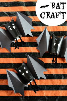 Easy Bat Craft | Hal