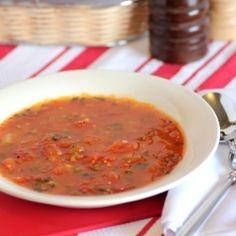 Fresh Tomato Basil Soup by NoshingwTheNolands