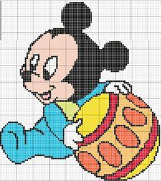 Mickey med bold
