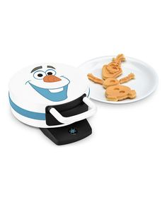 This Frozen Olaf Build-Your-Own Character Waffle Iron is perfect! #zulilyfinds
