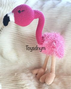 What you need to make your crochet shutterproof bauble yards Knitcraft Cot Flamingo Toy, Crochet Flamingo, Head And Neck, Stitch Markers, Slip Stitch, Santa Hat, Single Crochet, Free Pattern, Crochet Patterns