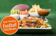 Easy, healthy and fun #recipes for your #Superbowl spread! | via @SparkPeople #healthy #food #gameday