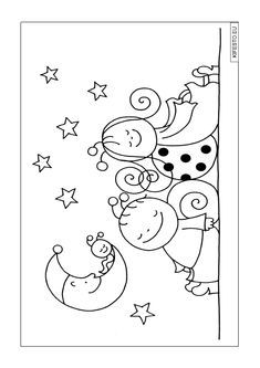 Colouring Pages, Coloring Books, Textiles, Preschool Activities, Summer Fun, Origami, Crafts For Kids, Applique, Mandala