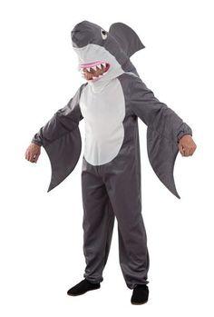 Disfraz Tiburón, deluxe  Aterroriza a tus amigos con este original disfraz de Tiburón.
