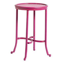 Nordal Industrial stool pink