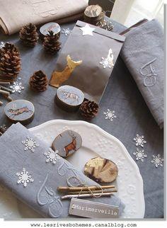 Mise en scène Noël au bois ©Marimerveille