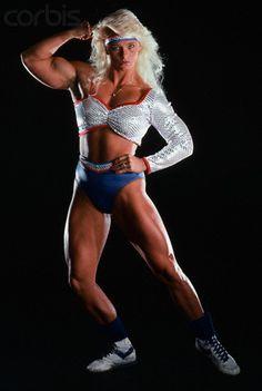 american gladiator costume | American Gladiator Raye Hollitt - PN007026 - Rights Managed - Stock ...