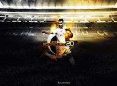 Jese Rodriguez (Real Madrid) by #AlbertGFX #football #wallpaper