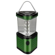 Journeys Edge 24LED Triangular Camping Lantern Light with Compass Green -- You can find more details by visiting the image link.