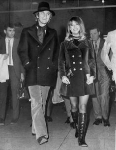 Terence Stamp and Julie Christie ~ 'Terry meets Julie, Waterloo Station, every Friday night' ~ The Kinks, 1967