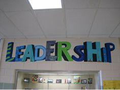 school murals leader in me -