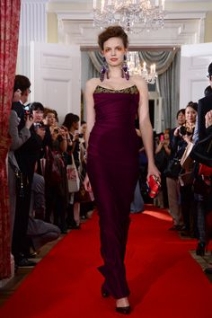 Vivienne Westwood's SS13 Red Carpet collection on show at Tokyo's British Embassy