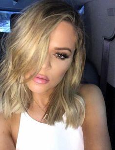 Khloe Kardashian's new hair short