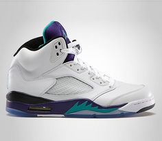 Air Jordan V-Grape...i have been waiting on this shoe for awhile now