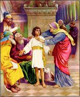 Religious Artist: Jesus' Childhood Artwork