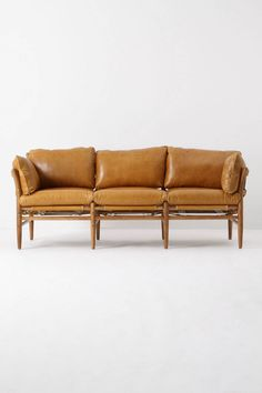 Caramel couch