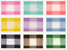 Freebie: 9 Gingham Fabric Textures from Pugly Pixel