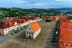 Photo about Bardejov square - unesco town in slovakia, europe. Image of cathedral, town, bardejov - 11143405 Les Balkans, Old Town Square, Explore Travel, Medieval Town, Bratislava, Eastern Europe, World Heritage Sites, Slovenia, Austria