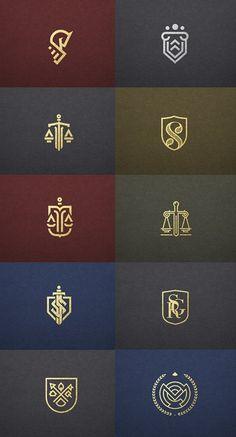 Typography Logo, Logo Branding, Branding Design, Lawyer Logo, Law Firm Logo, Luxury Logo Design, Logo Creation, Creative Logo, Logo Design Inspiration