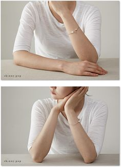 진주 실버볼 뱅글팔찌 / Silver Cuff Bracelet with Silver and Pearl End_8mm / 진주 뱅글팔찌 / 실버뱅글팔찌 / 925실버팔찌 : 스키니팝