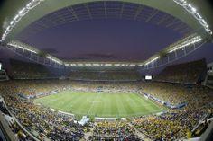 Visão geral do Itaquerão durante a partida. Foto: Joel Silva/Folhapress