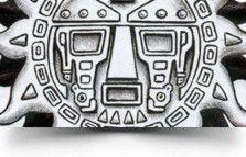 medal tat Tribal Sun Tattoo
