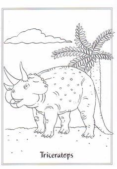 Ausmalbild Dinosaurier Und Steinzeit Kostenlose Malvorlage