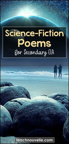7 Science Fiction Poems for Secondary ELA - Nouvelle ELA Teaching Resources Teaching Poetry, Teaching Science, Science Poems, Teaching Reading, Teaching Tools, Teaching Ideas, English Classroom, English Teachers, Classroom Language