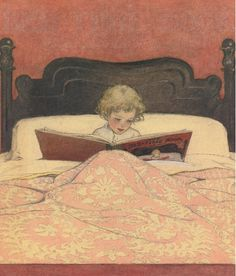 Jessie Willcox Smith, THE BED-TIME BOOK.