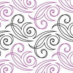 """Lovegrass - Paper - 6.5"""" - Quilts Complete - Continuous Line Quilting Patterns"""