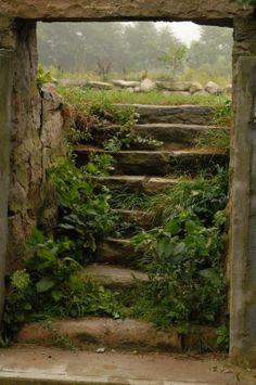 Stairs somewhere ...