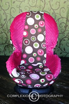 Are you tired of the same fabric on your car seat? Then it is time for a make over with our Toddler Slip Cover. Your choice of one or two fabrics, including minky. These Slip Covers can be removed easily and washed in the washing machine to clean up after spills.