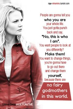 Emma swan once upon a time Abc Shows, Best Tv Shows, Best Shows Ever, Favorite Tv Shows, Movies And Tv Shows, Favorite Quotes, Emma Swan, Time Quotes, Movie Quotes