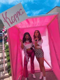 Sorority Bid Day, Sorority Big Little, Sorority Recruitment, Barbie Theme Party, Barbie Birthday Party, Homecoming Floats, Homecoming Week, Recruitment Themes, Cute Date Ideas