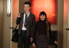 Pin for Later: Pop Culture Halloween: 39 Costume Ideas For BFFs Kurt and Rachel From Glee